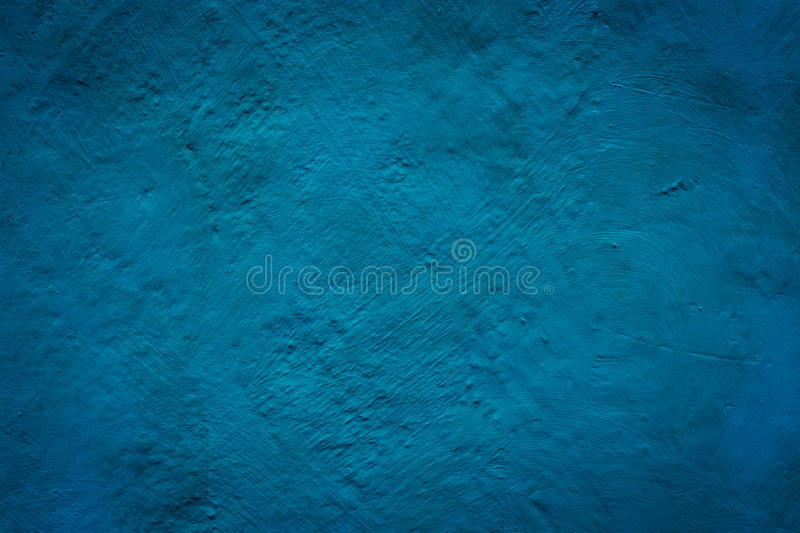 Concrete blue wall texture grunge background stock illustration