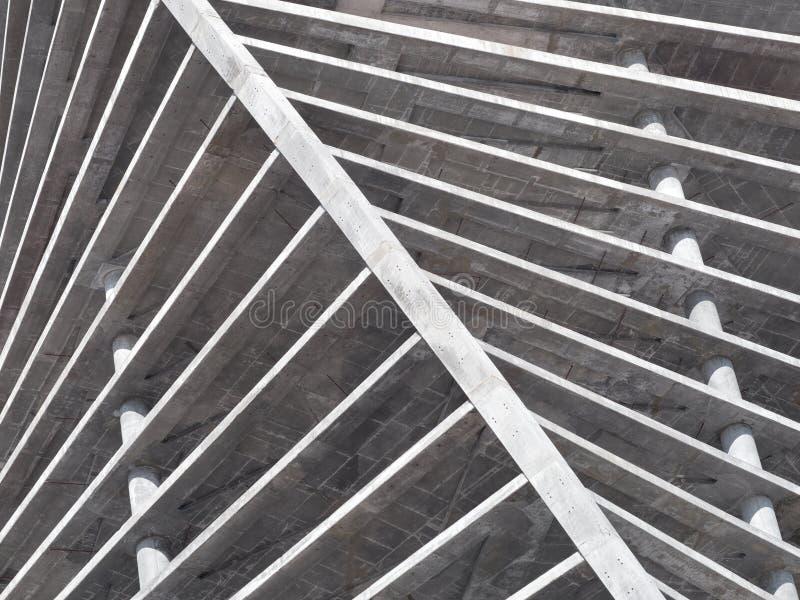 Concrete bouwconstructie royalty-vrije stock afbeeldingen