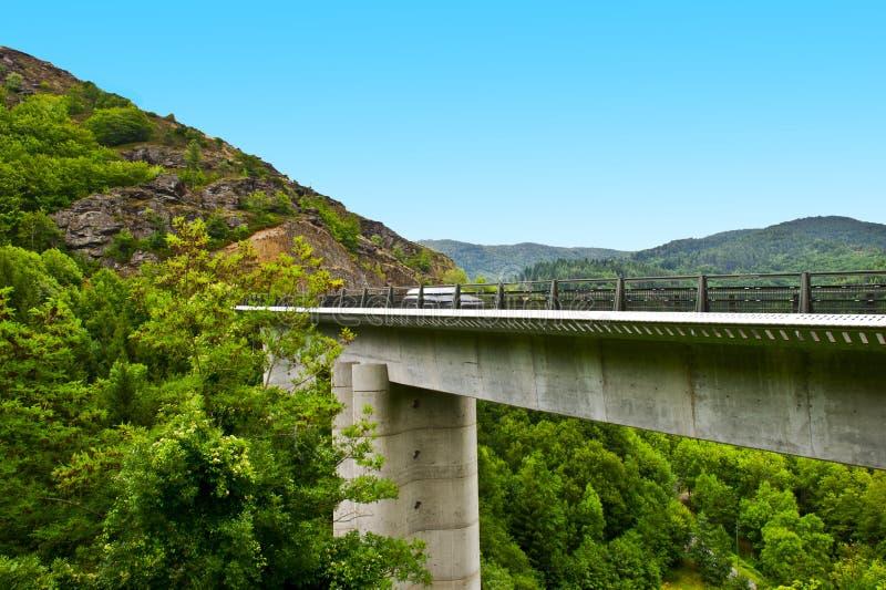 Download Concrete Bridge stock photo. Image of landscape, blur - 23031454