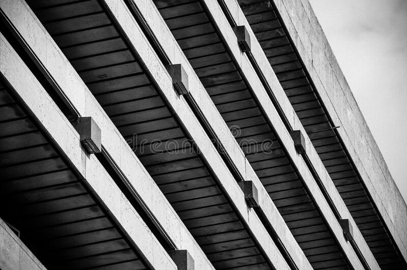 Concrete building stock photography