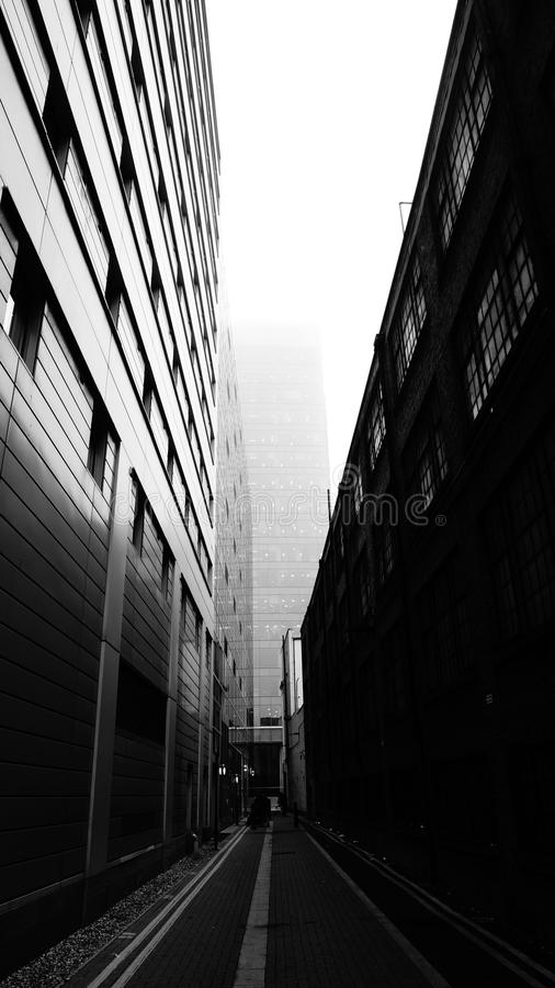 Download Concrete Buildings Grayscale Photography Stock Image - Image of travel, window: 82948563