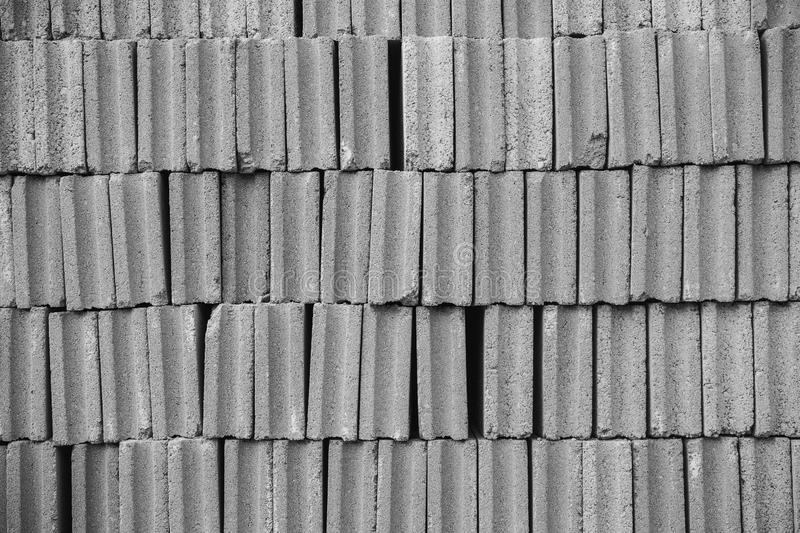 Concrete cement cinder blocks texture pattern royalty free stock images