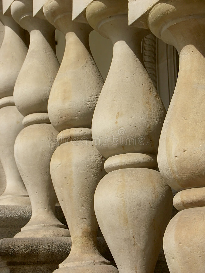 Download Concrete columns stock image. Image of cement, harmony - 169533