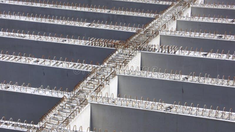 Concrete construction royalty free stock photo