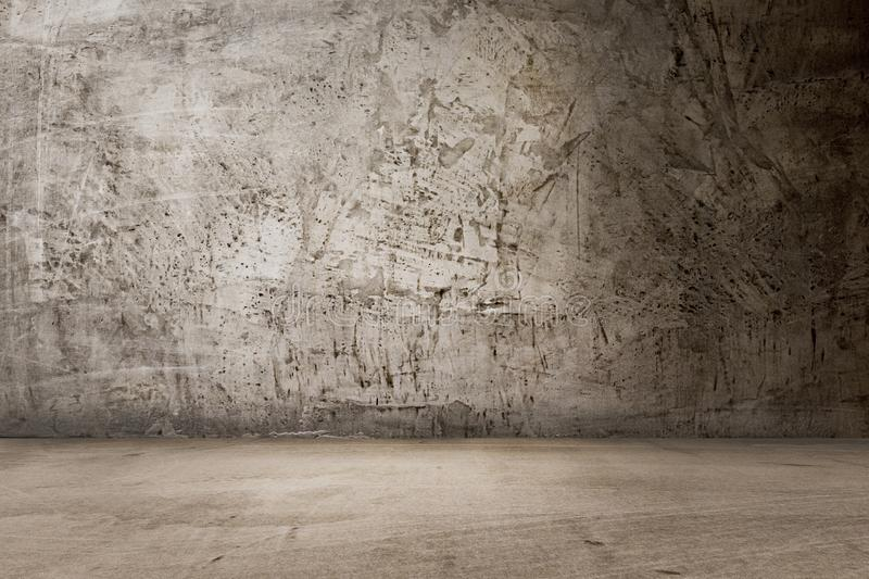 Concrete dark wall texture background. Empty room , wallpaper stock photos