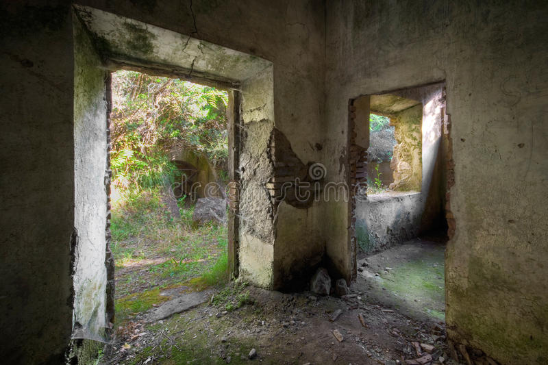 Download Concrete Decay 01 stock image. Image of broken, rock, home - 9664695
