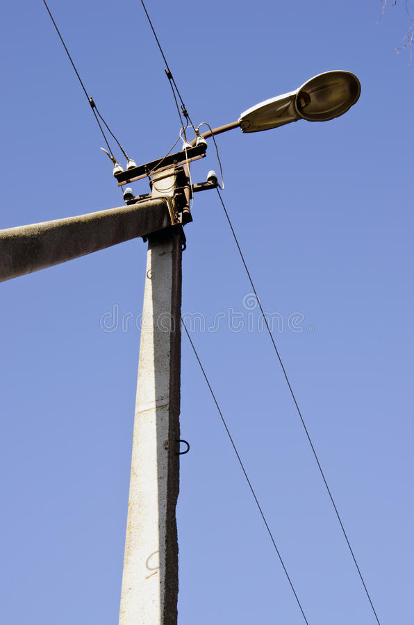 Concrete Electric Poles : Concrete electric pole power supply industry stock image