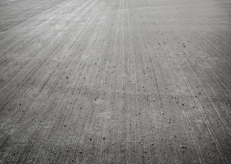 Concrete floor aircraft runaway. Background, texture stock photos