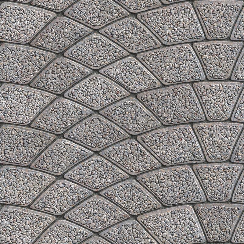 Concrete Granular Pavement Seamless Tileable Texture