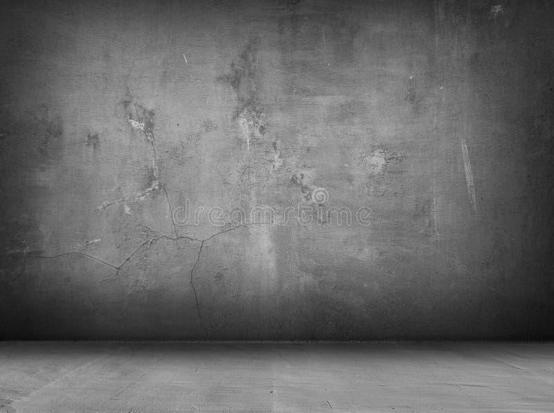Concrete grey interior background stock photos