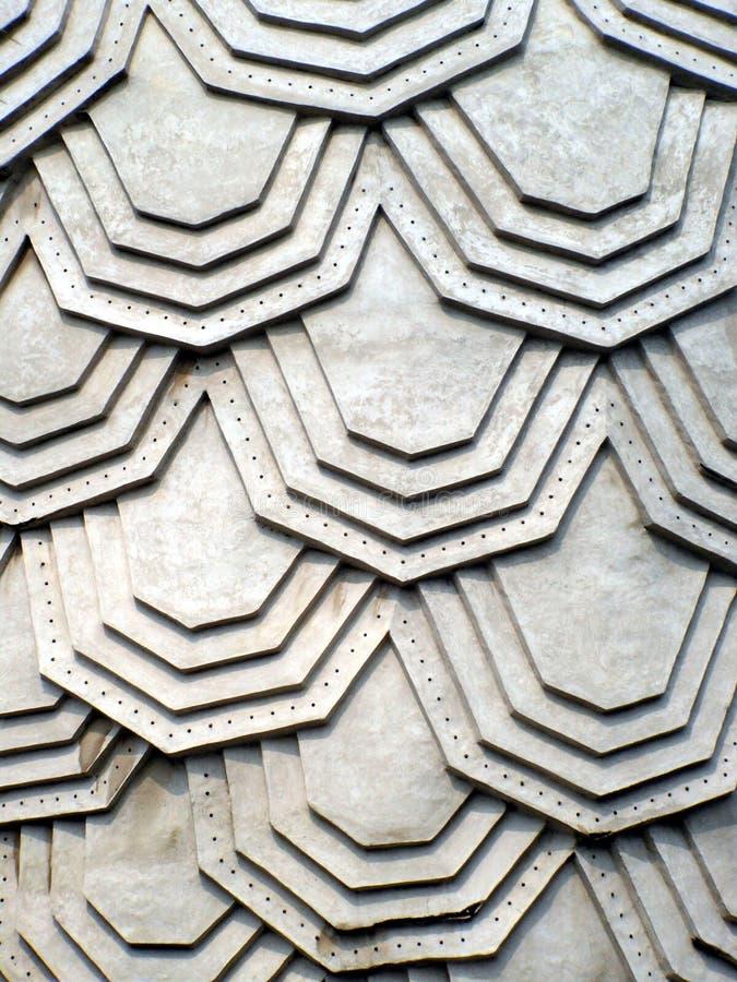 Concrete hexuitdraaistructuur stock fotografie