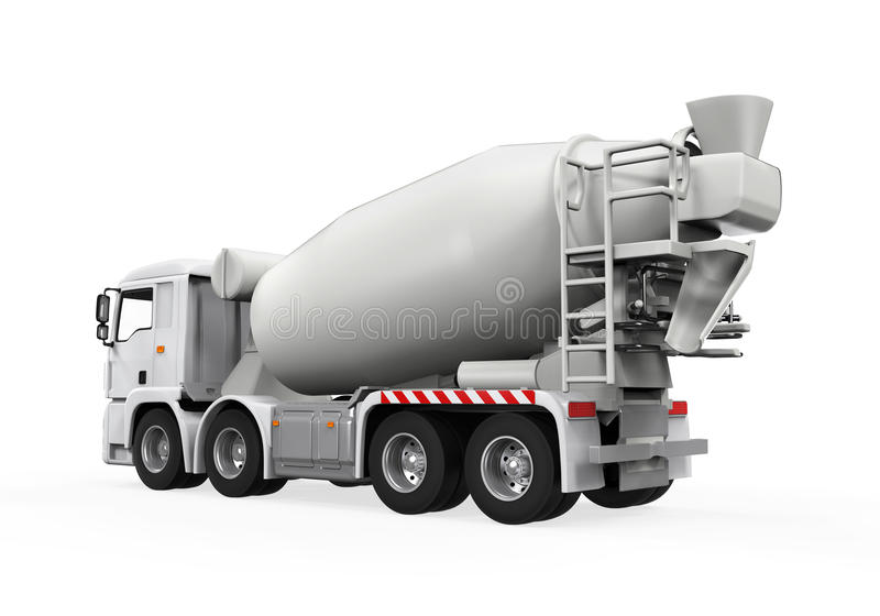Download Concrete Mixer Truck stock illustration. Illustration of industry - 39511888