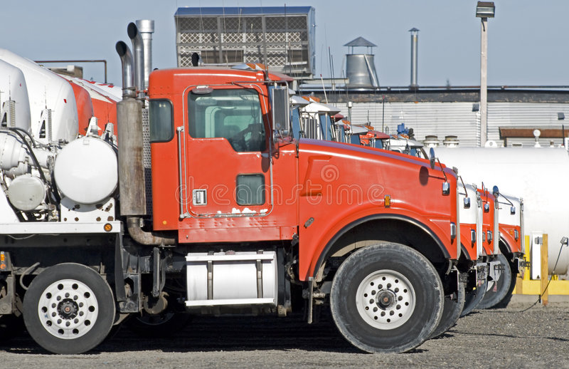 Download Concrete mixing trucks stock photo. Image of contracting - 7395180