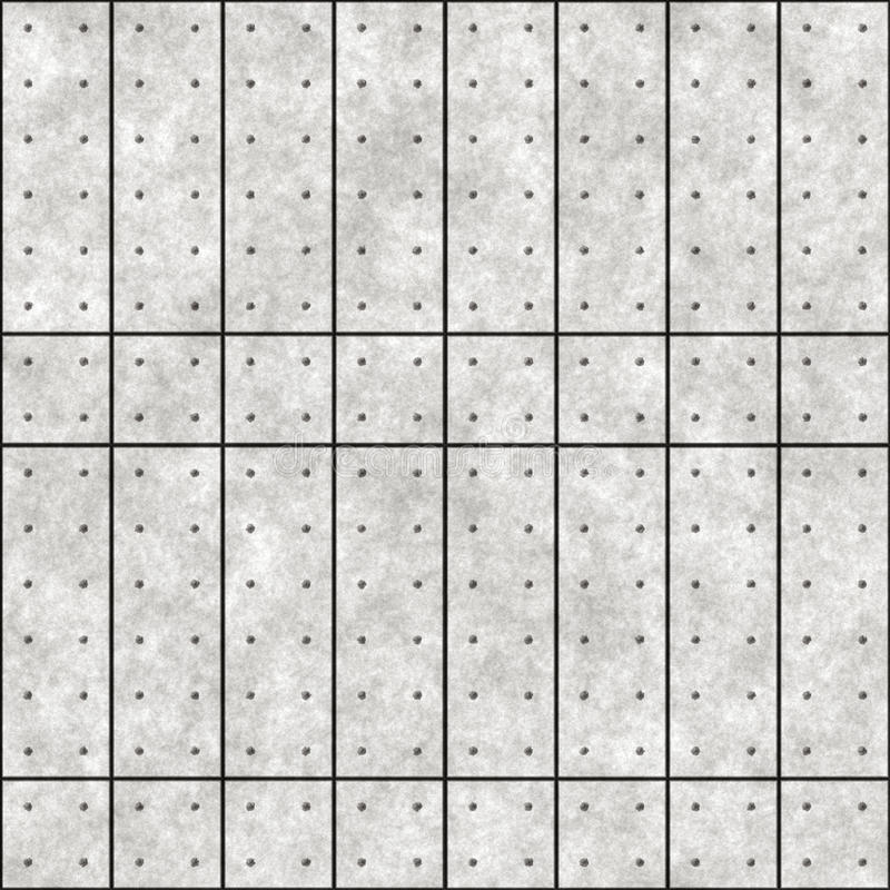 Concrete panelen vector illustratie