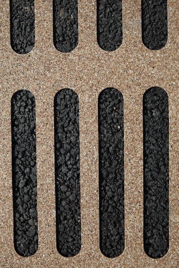 Concrete paved texture