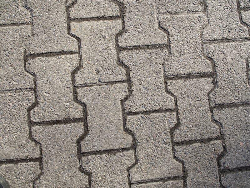 Concrete Paving Texrure stock photos