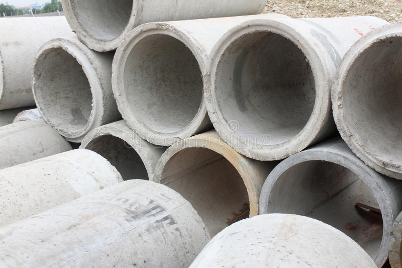 Download Concrete Pipes stock photo. Image of conduit, pipes, drains - 11900814