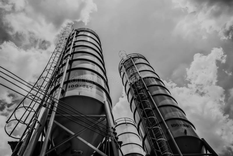 Concrete Batching Plant Stock Images - Download 272 Royalty Free Photos