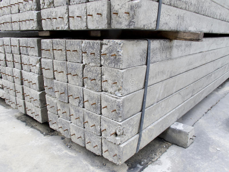 Download Concrete Pole Pile On Ground Royalty Free Stock Images - Image: 26841999
