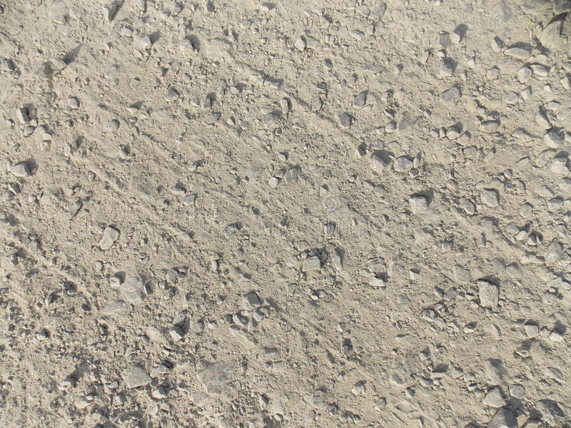 Concrete road royalty free stock image