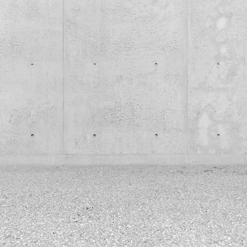 Concrete ruimte stock foto