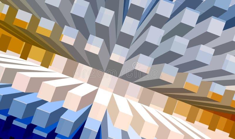 Download Concrete sea series stock illustration. Illustration of buildings - 520154