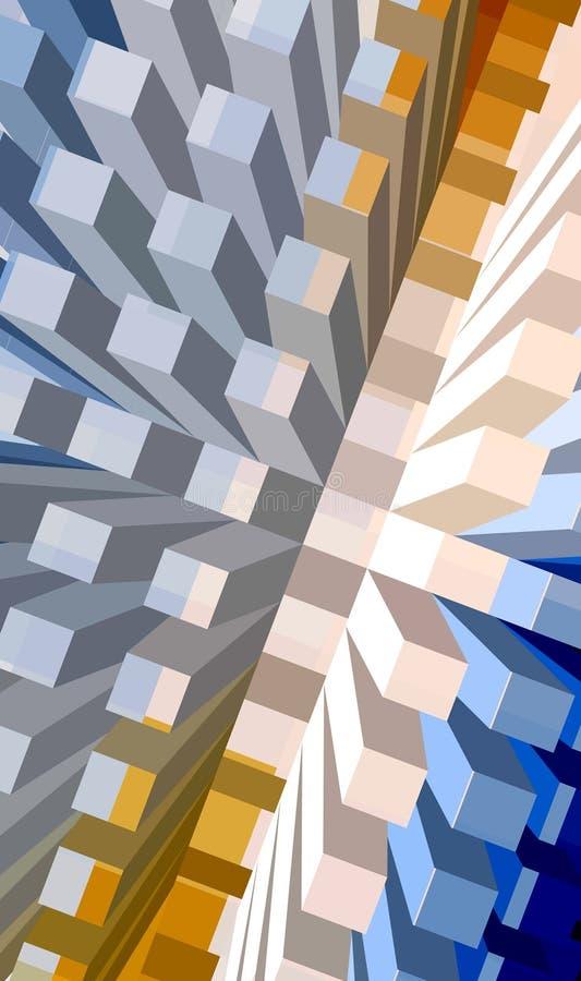 Download Concrete sea series stock illustration. Image of cityscape - 520156