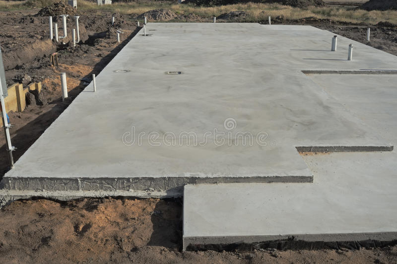 Concrete slab royalty free stock photography