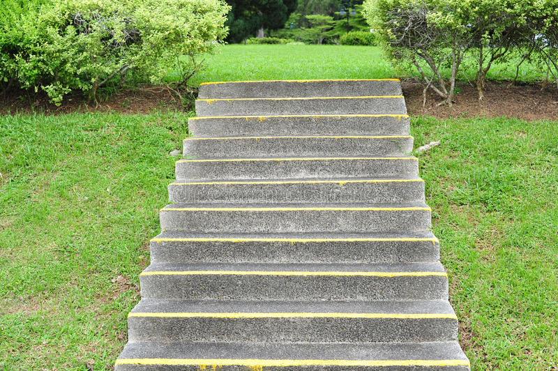 Download Concrete Stair Steps Stock Photo. Image Of Marking, Convenience    17674662