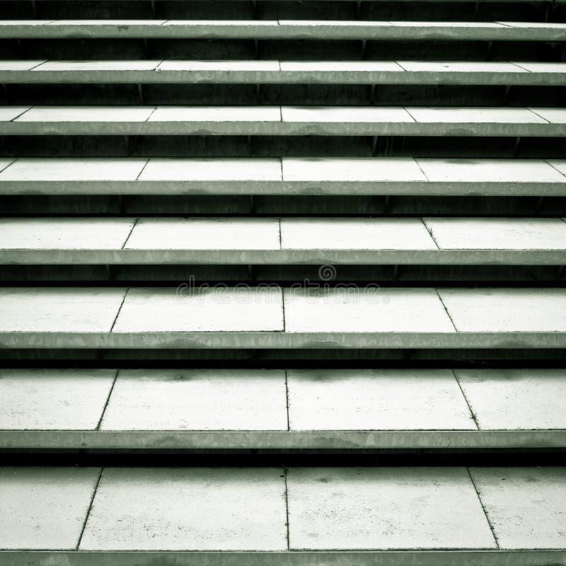 Concrete stappen royalty-vrije stock fotografie