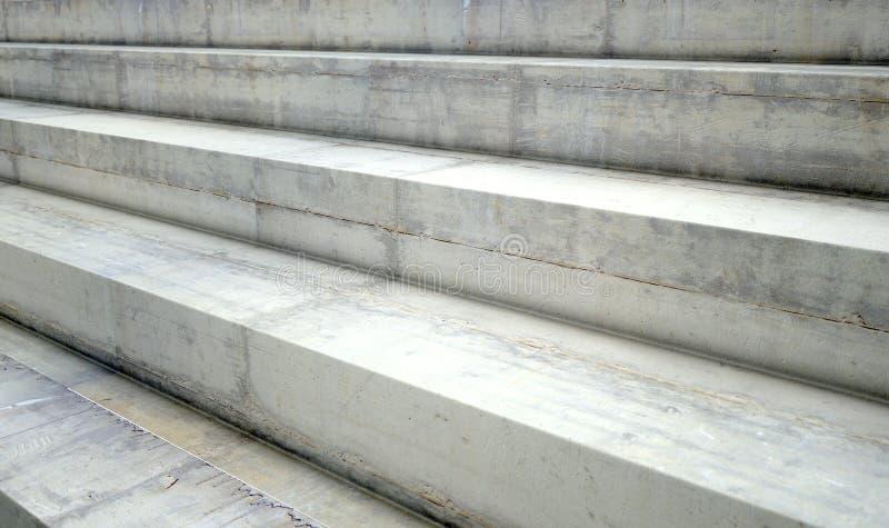 Concrete Stappen royalty-vrije stock foto's