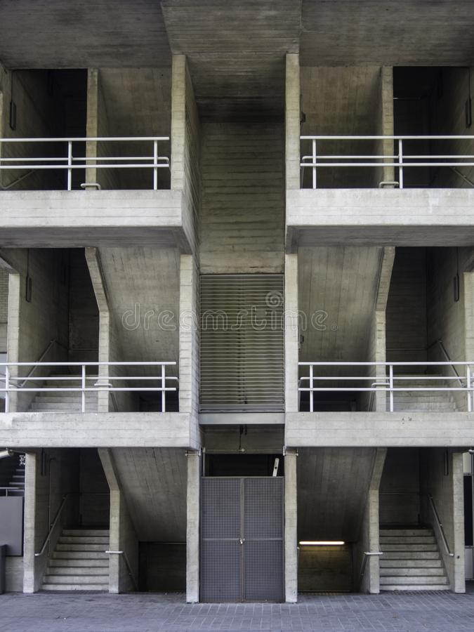 Download Concrete And Steel, Stairways And Balconies Editorial Image    Image Of Building, Railing