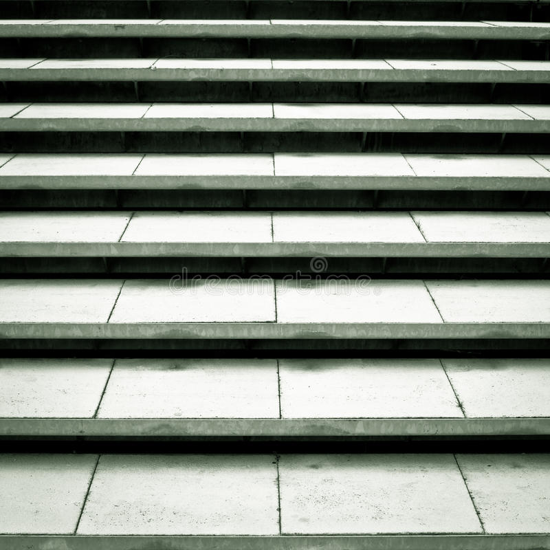 Concrete Steps Royalty Free Stock Photography