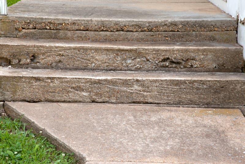 Concrete Steps stock photo