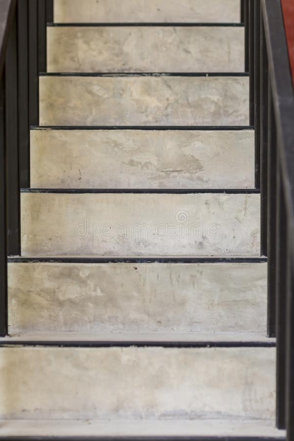 Concrete steps.ladder texture.Cement concrete stair.Abstract modern concrete stairs to building. step of stairs for background. royalty free stock photography