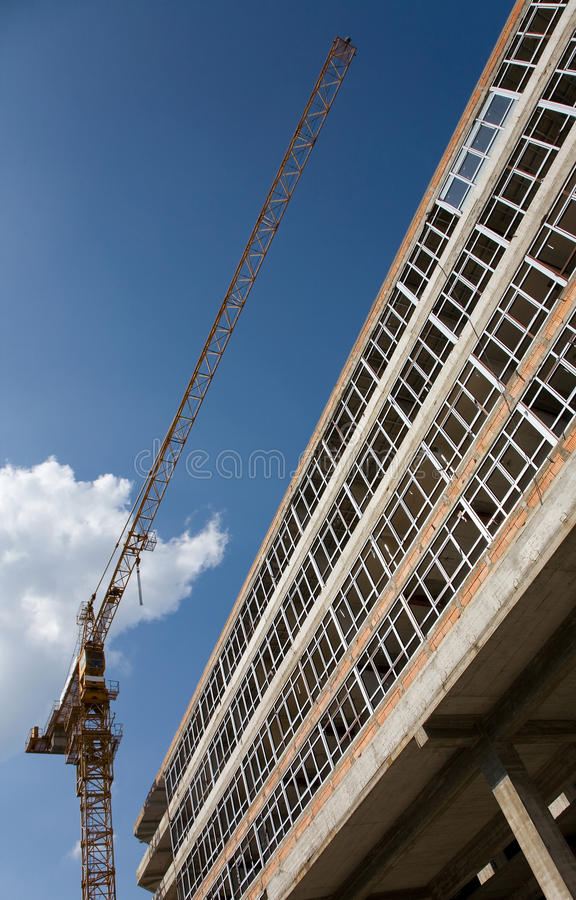 Download Concrete Structure Of A New Apartment Building Stock Image - Image: 10970827