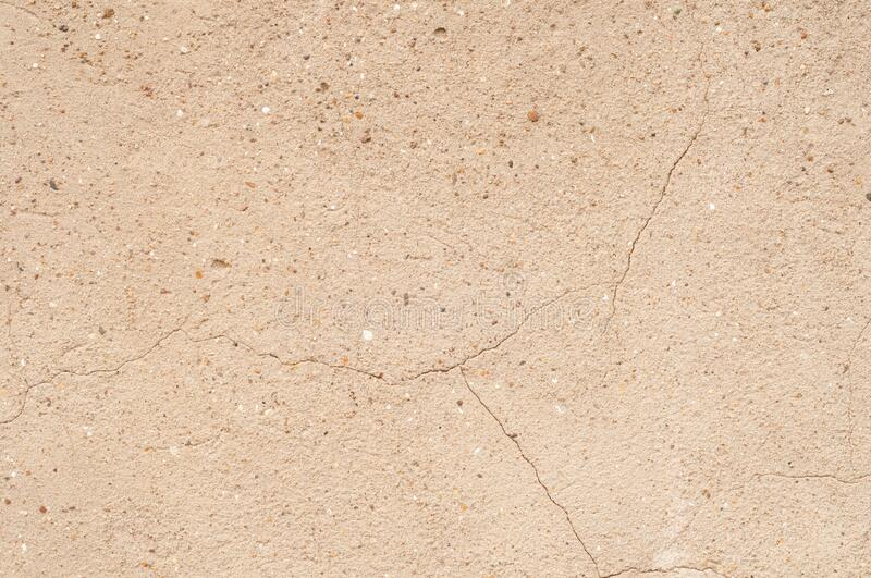 Cracked concrete surface textured background stock image
