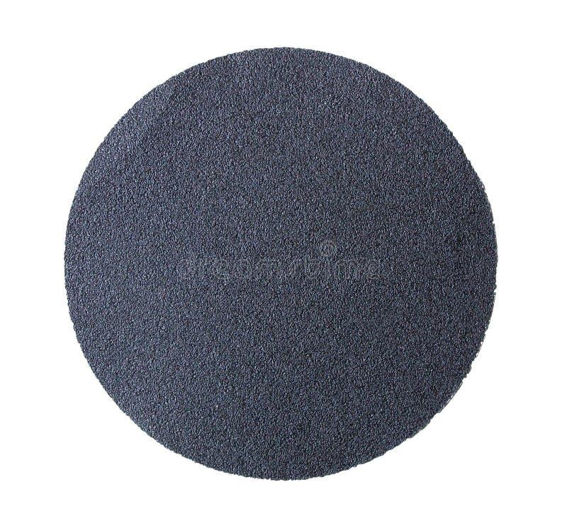 Concrete surface sanding paper stock photography