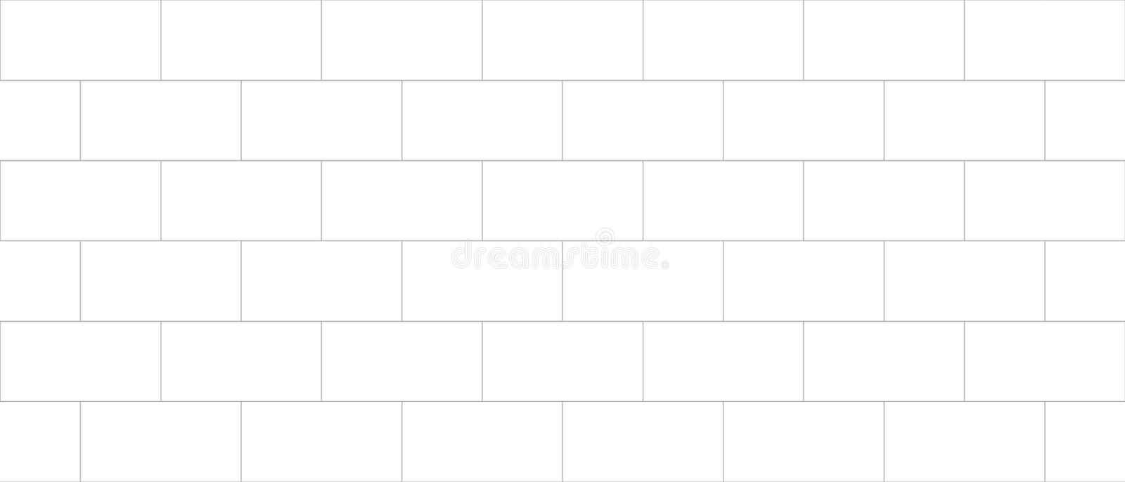 Concrete tile, cinder block wall cladding, seamless texture bump. Cinder block wall cladding seamless mapping royalty free illustration