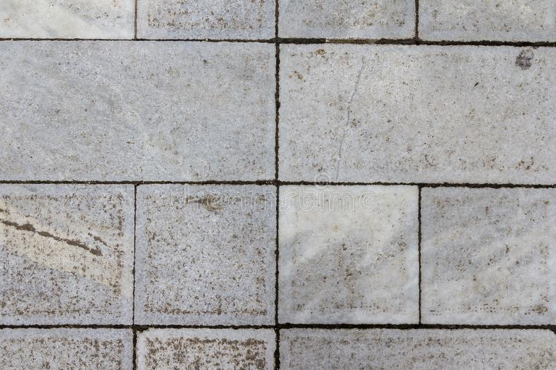 Concrete tile texture. City pavement background. Abstract stone brick pattern. Street sidewalk texture.  stock photography