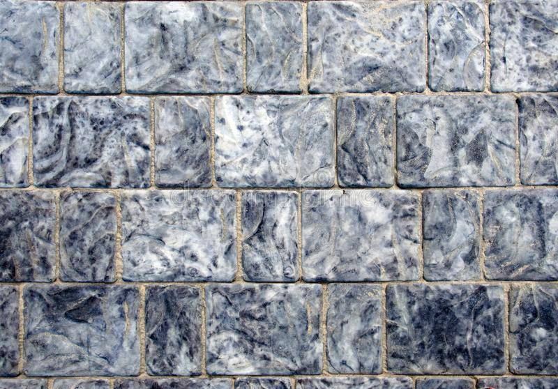 Concrete tile texture. City pavement background. Abstract stone brick pattern. royalty free stock image