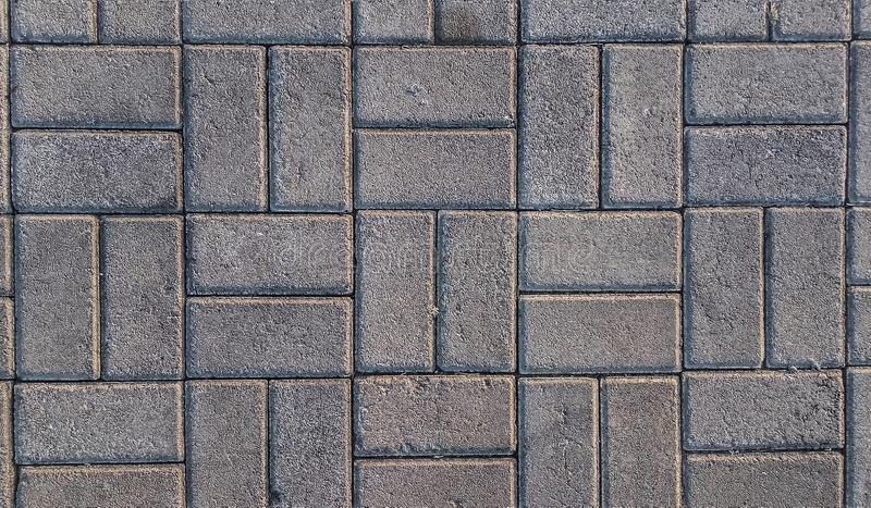 Concrete used to make roads or floor. royalty free stock photography