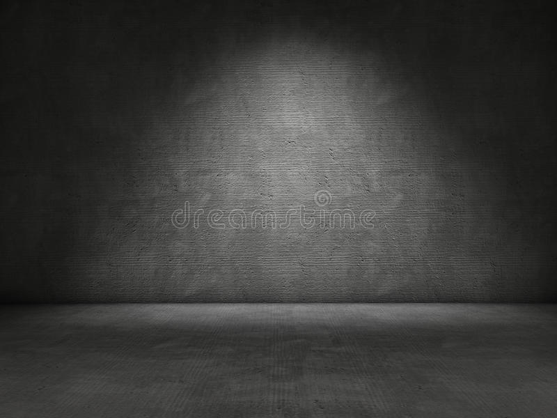 Download Concrete wall stock illustration. Image of interior, gray - 28119691