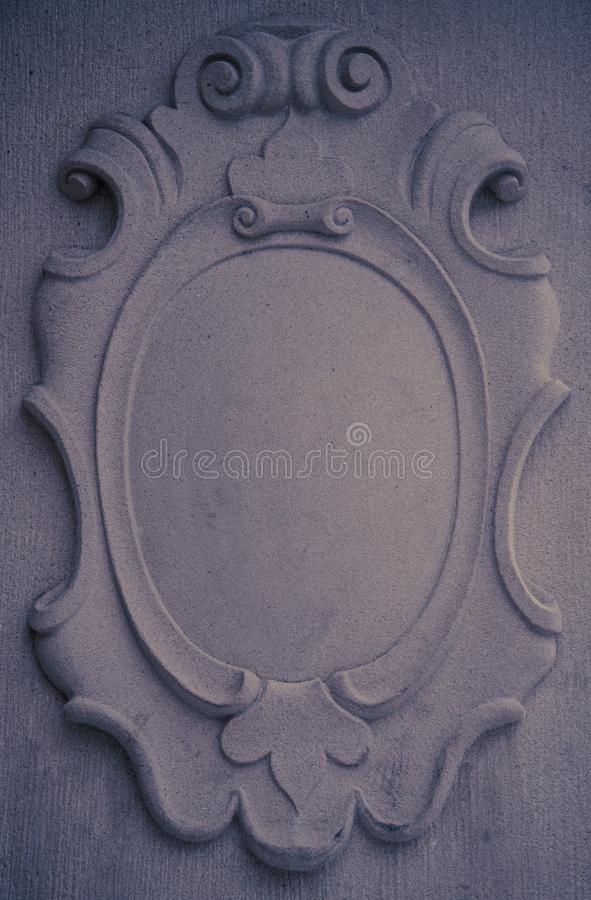 Concrete wall element royalty free stock images