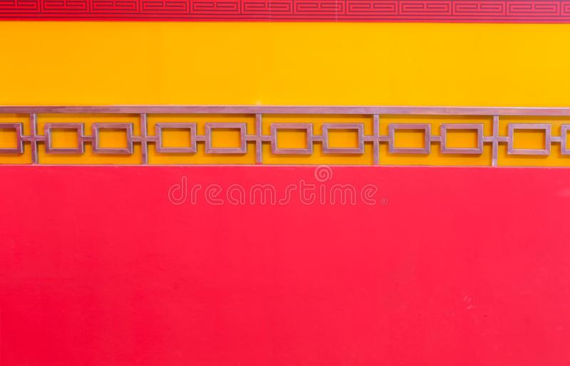 Concrete wall with red background. royalty free stock photos