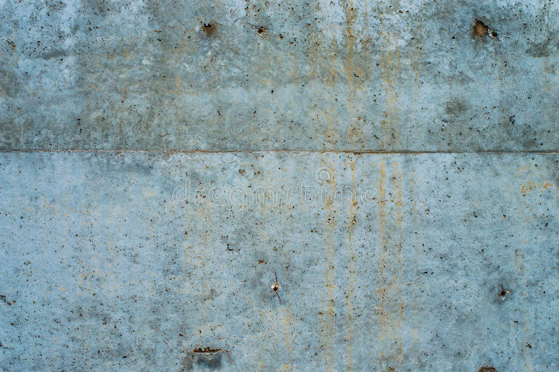 Concrete wall texture. Gray and rusty concrete wall texture royalty free stock photography