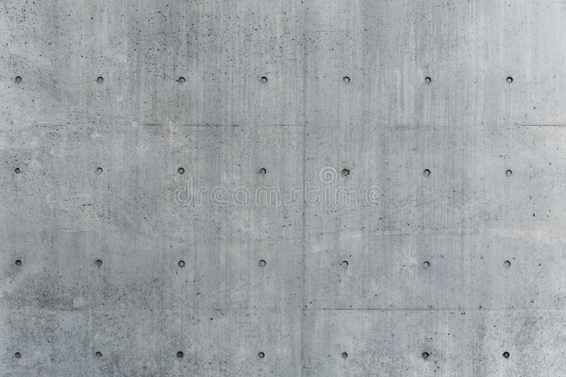 Concrete wall texture gray solid rigid stock image