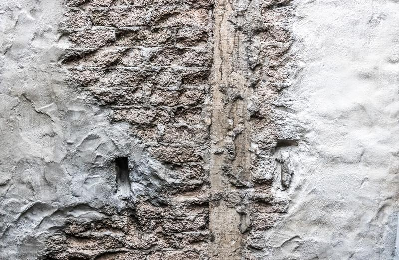 A Concrete Wall Textures royalty free stock photography