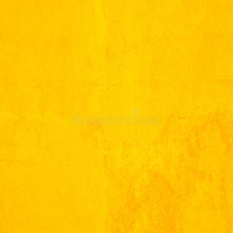 Concrete Wall Yellow Color For Texture Background Stock Photo ...