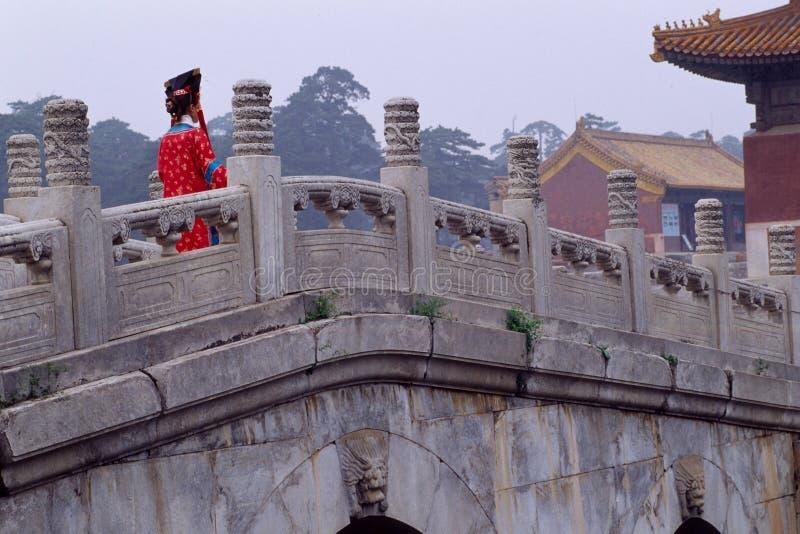 Concubine e ponticello della pietra immagini stock libere da diritti